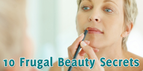 10 Frugal Beauty Secrets