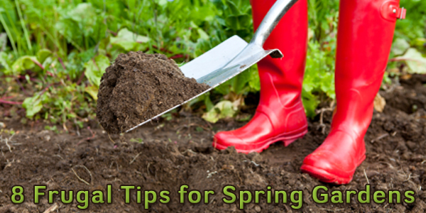 8 Frugal Tips for Spring Gardens