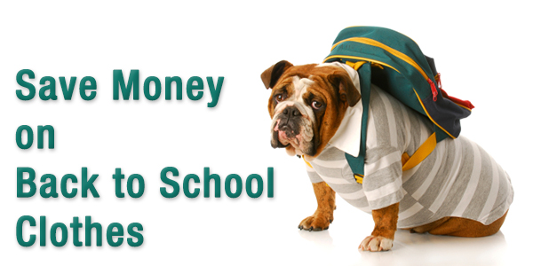 Save Money on Back to School Clothes
