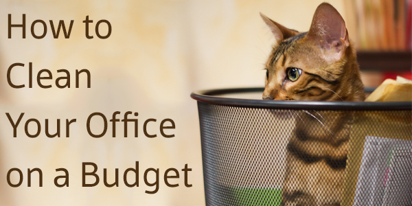 How to Clean Your Office on a Budget