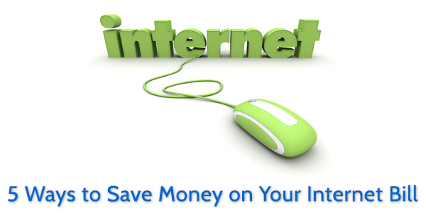 5 Ways to Save Money on Your Internet Bill