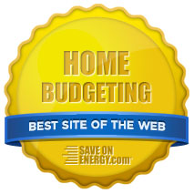 Nominated for Best Home Budgeting Website Award