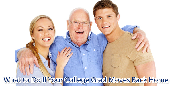 What to Do If Your College Grad Moves Back Home