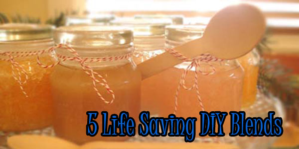 5 Life Saving DIY Blends
