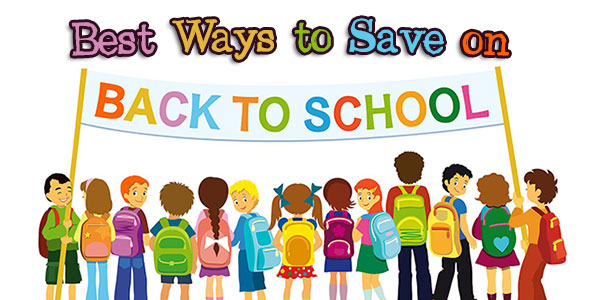 Best Ways to Save on Back to School
