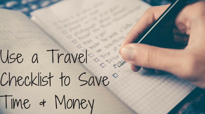 save money travel list