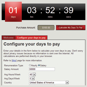 How long do you need to pay for something? - DaysToPay.com