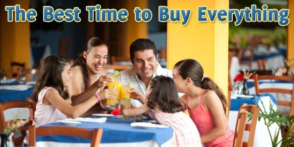 The Best Time to Buy Everything