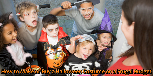 How to Make or Buy a Halloween Costume on a Frugal Budget