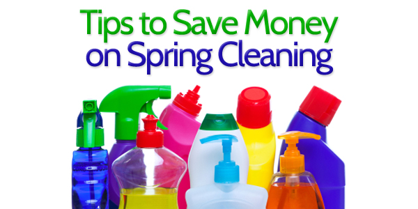Tips to Save Money on Spring Cleaning