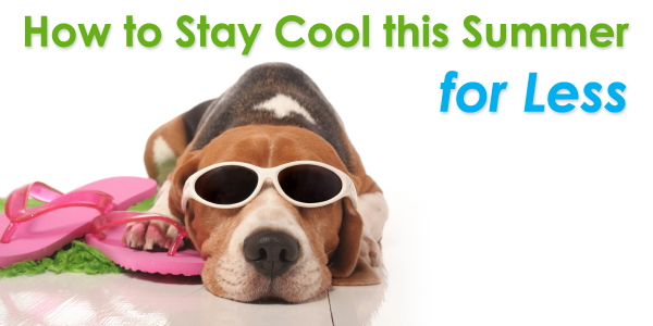 How to Stay Cool this Summer for Less