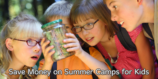 Save Money on Summer Camps for Kids