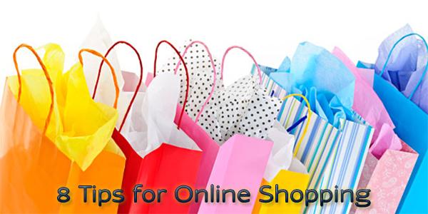 8 Tips for Online Shopping