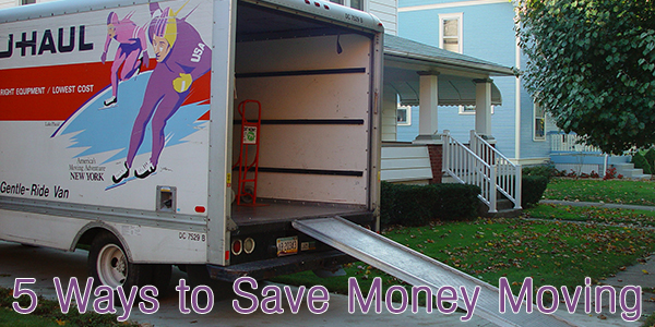 5 Ways to Save Money Moving