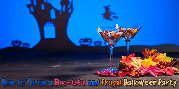 How to Throw a Boo-tiful and Frugal Halloween Party