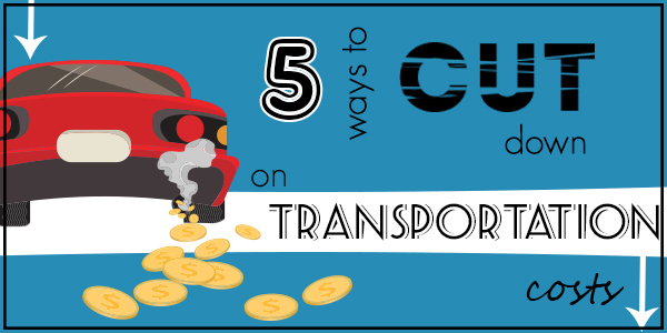 5 ways to cut down on transportation costs