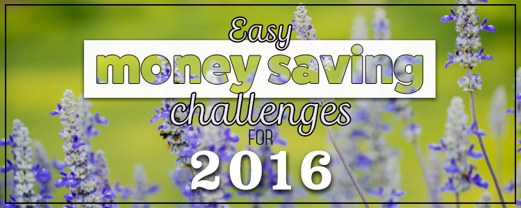 Easy Money Saving Challenges for 2016