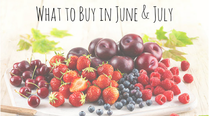 Best Buys in June & July