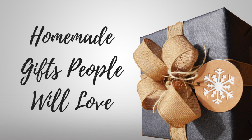 fun and easy homemade gifts